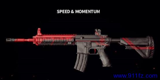 绝地求生 辅助黑红疾风M416武器全面展示